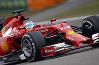 Ferrari Formula One driver Fernando Alonso of Spain drives during the Chinese F1 Grand Pri