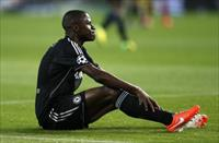 Chelsea's Ramires reacts during his team's Champions League semi-final first leg soccer ma