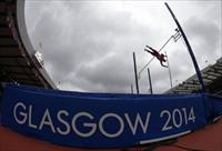 A view of the 2014 Commonwealth Games in Glasgow, Scotland, July 29, 2014.