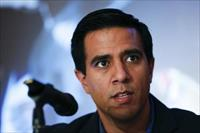 Venezuela's soccer manager Cesar Farias talks to the media during a news conference in Car