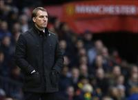 Liverpool manager Brendan Rodgers watches play during their English Premier League soccer