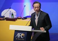 South Korean FIFA vice president Chung Mong-Joon talks during the 24th Asian Football Conf