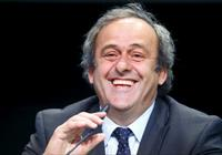 UEFA President Michel Platini addresses a news conference after a UEFA meeting in Zurich,