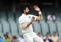 FILE PHOTO: India's Ishant Sharma bowls on day three of the first test match between Austr