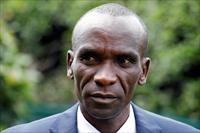 FILE PHOTO: Kenya's Eliud Kipchoge, the marathon world record holder, is seen during an In