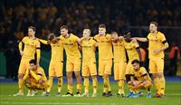 FILE PHOTO: Soccer Football - DFB Cup - Second Round - Hertha BSC v Dynamo Dresden - Olymp